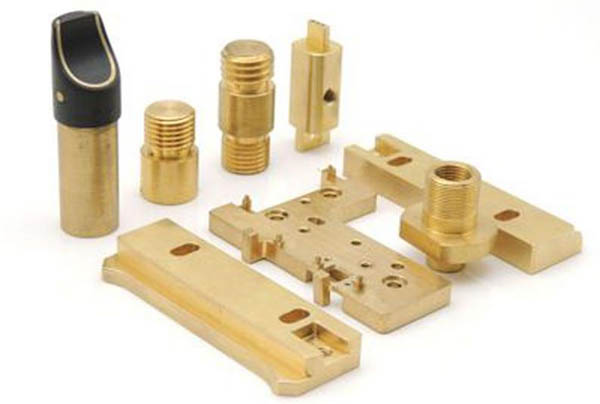 Custom polished brass milling parts machining accessories1
