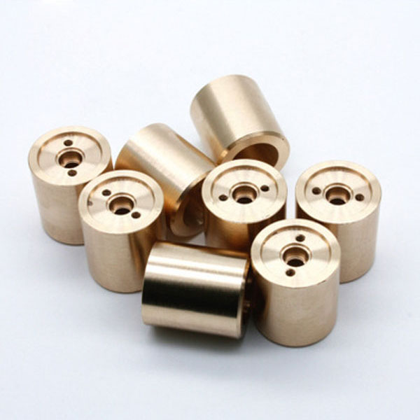 Custom polished brass turning parts machining accessories3