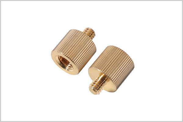 Customized electroplated brass turning parts processing machinery parts-0104