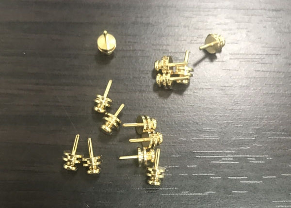 Customized mechanical brass milling parts processing accessories-2