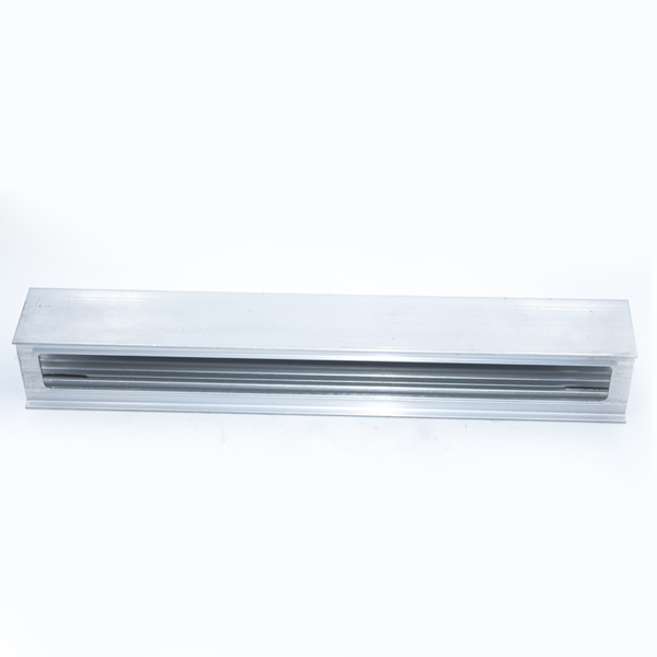 Polished aluminum alloy door and window processing parts2